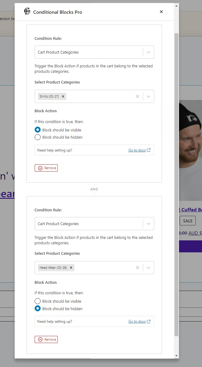 Creating dynamic blocks by WooCommerce product categories